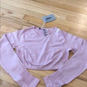 Gymshark Flawless Knit Long Sleeve Crop Top